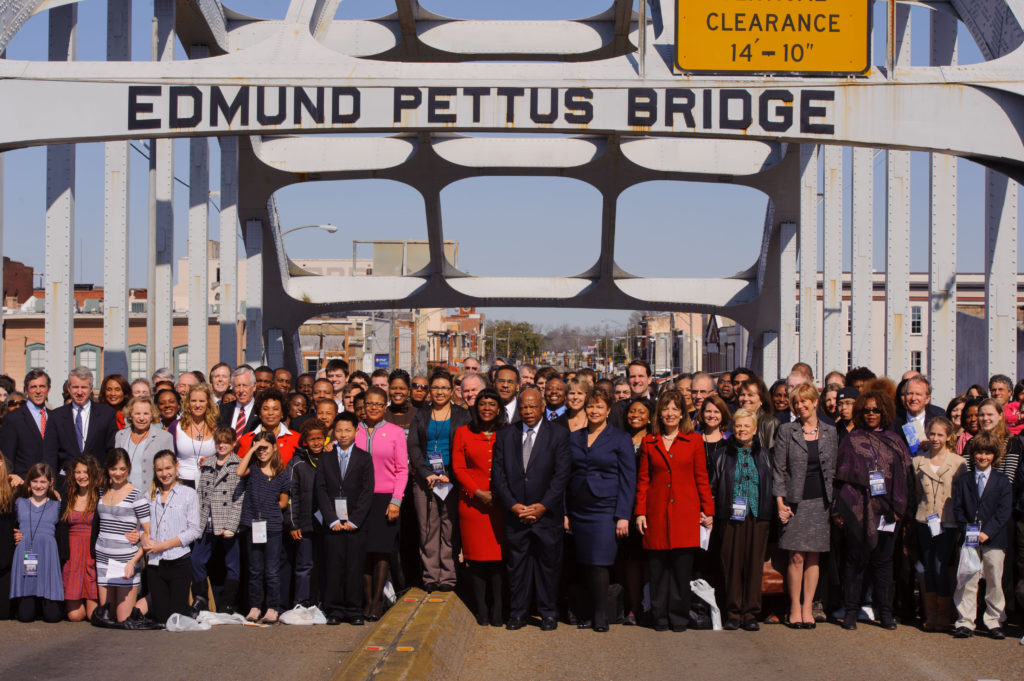 Edmund Pettus Bridge Crossing