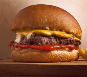 It's cheaper to buy an hour of labor than a burger.