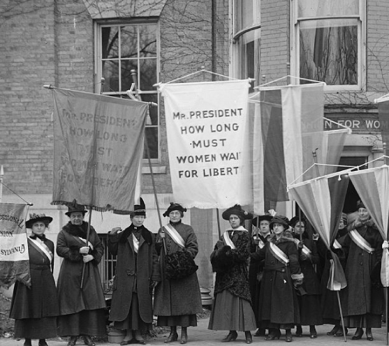 Women's Suffrage and Taking a Knee