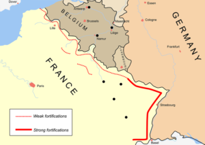 Imageo f a majp of France in WWI