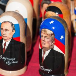 Nesting Dolls and Egg on Trump's Face