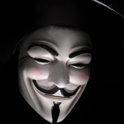 Picture of Anonymous Snowden